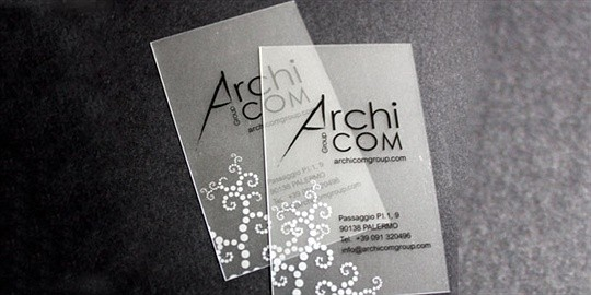 archi business card