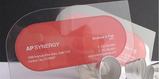 ap synergy business card