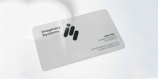 imaginary systems business card