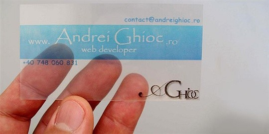 andrei business card