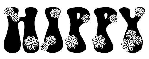 LMS Hippy Chick font