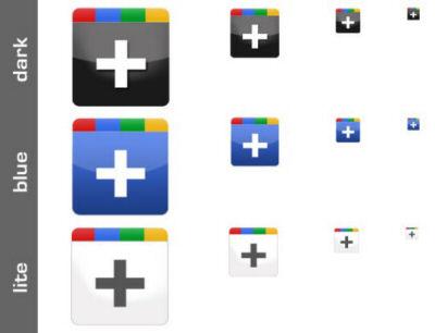 Freebie: Google+ Icon Set