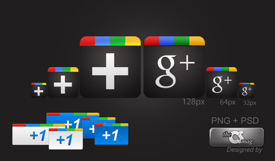 GOOGLE PLUS FREE ICON PACK