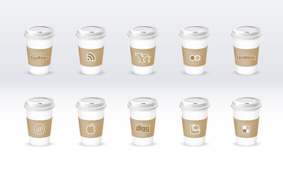 Social Icon Set ~ Eco friendly