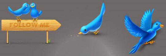 Twitter Icons TweetMyWeb