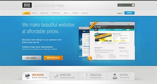 Design a Beautiful Website From Scratch