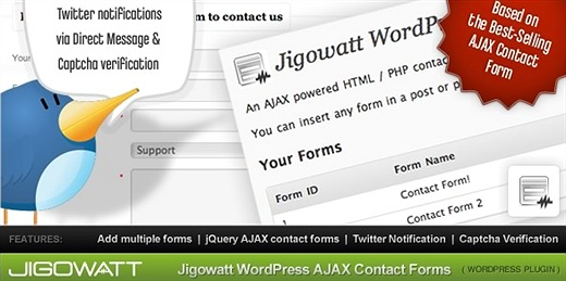 AJAX Contact Forms (Premium) WordPress Plugin