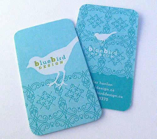 blue bird design