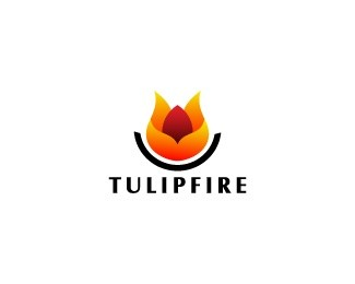 Tulip Fire Logo Design