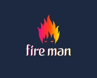 Fireman Logo Design
