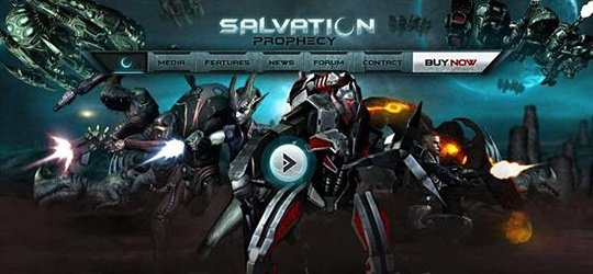 salvation prophecy vide games website