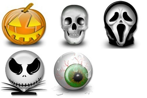 halloween icons by iconshock