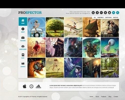 prospector responsive theme
