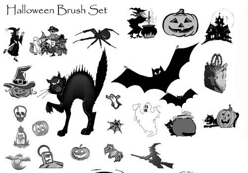 halloween brushes by td-brushes
