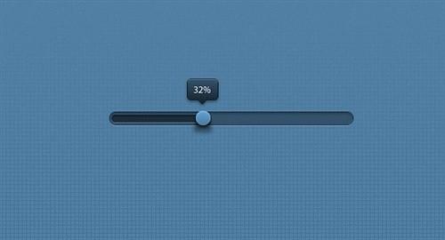 progress bar psd web element