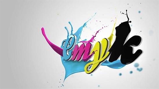 CMYK Typography Examples