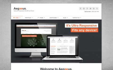 aegaeus – responsive business wp theme
