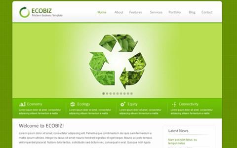 ecobiz – modern business wordpress theme