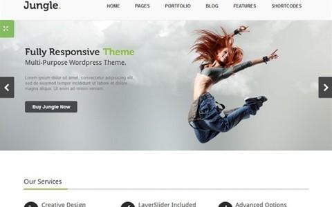 jungle – responsive multi purpose wordpress theme