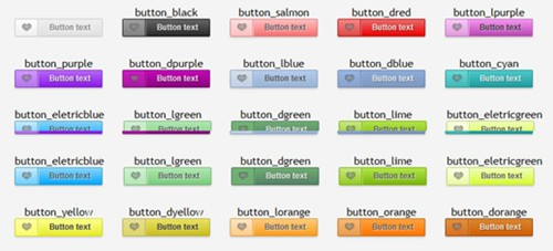 beauttons – beautiful css3 buttons