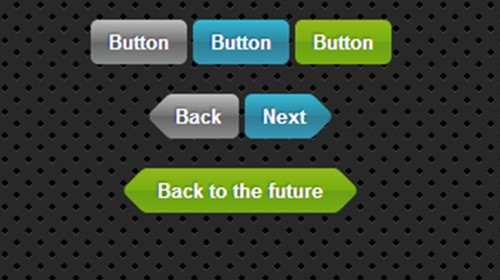 css3 ios like buttons