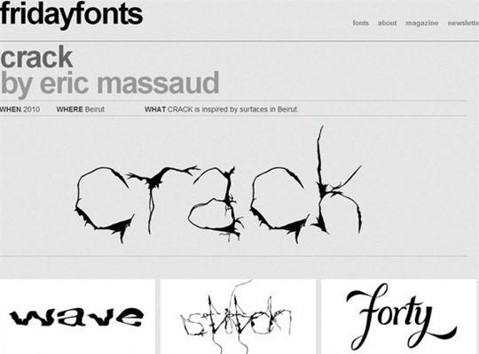 friday fonts