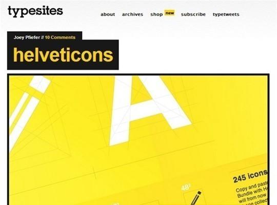 type sites