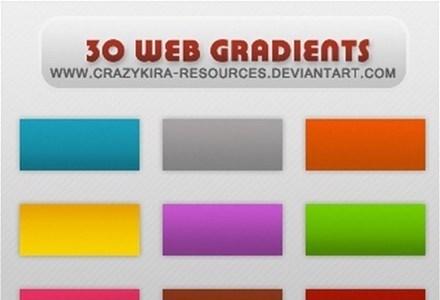 gradients 05-web style