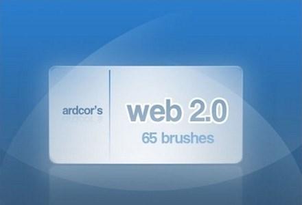 web 2.0 style brushes