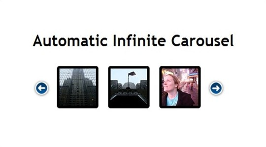 automatic infinite carousel