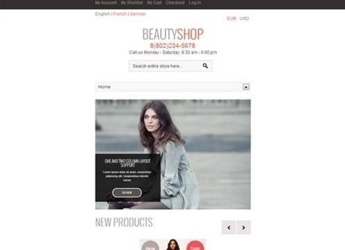 beautyshop premium responsive magento theme