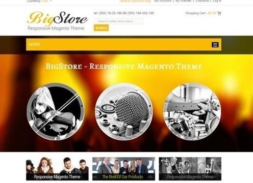 bigstore responsive magento theme