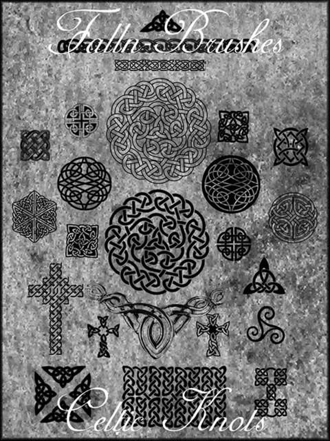celtic knot brushes