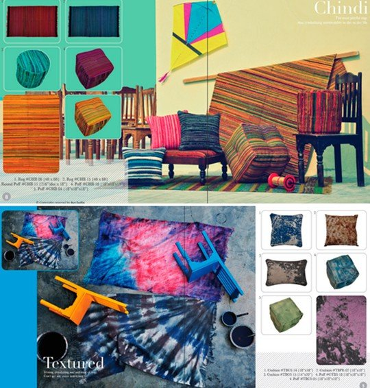 color splashes & textures: concept design & photography