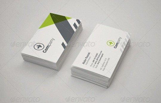 photorealistic business card mockup v2
