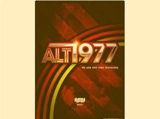 alt/1977: we are not time travelers
