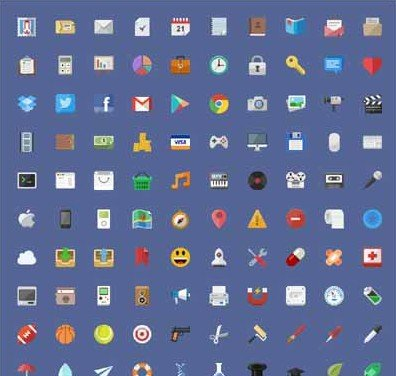 flat icon set - stafie anatolie