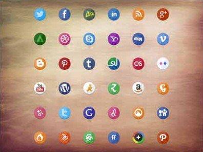 social icon set - stafie anatolie