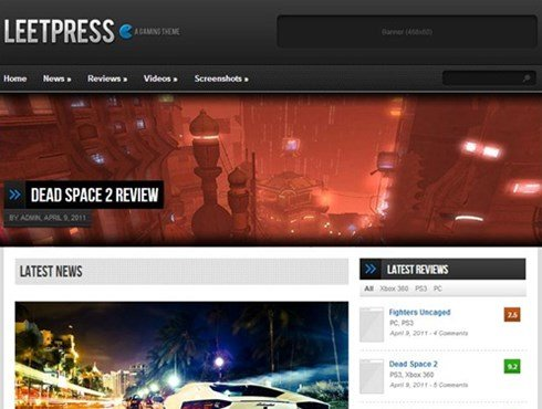 leetpress game theme