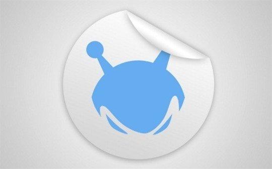 sticker template - logo psd file
