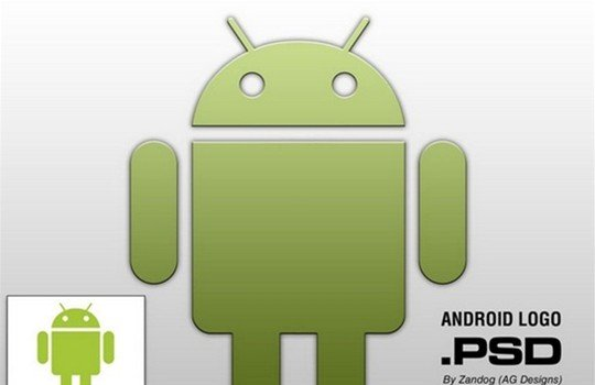 android logo hd - logo psd file