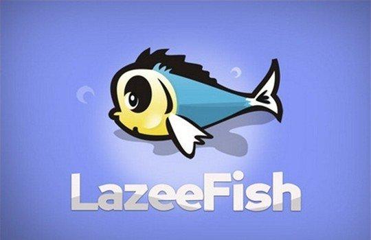 lazeefish - logo psd file
