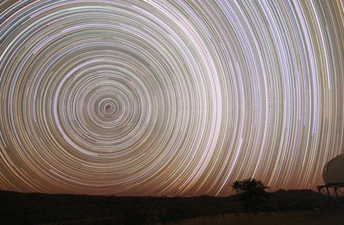 star trails - long exposure photos