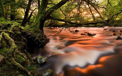 river radiant an alternative - long exposure photos
