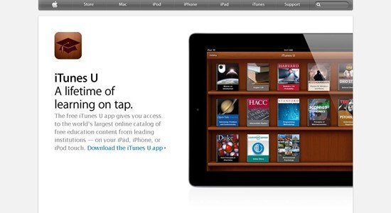 Apple - Apps - Itunes U