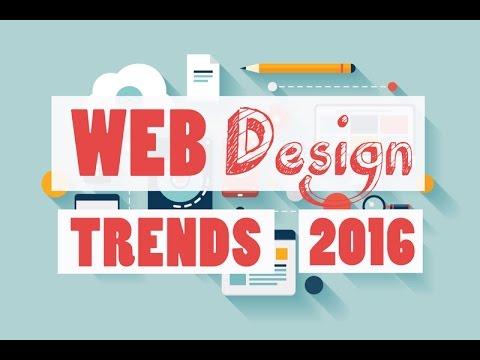 2016 Web Designing Trends