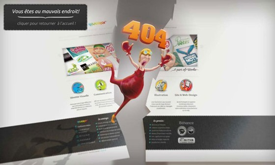 Illucolor - 404 page designs