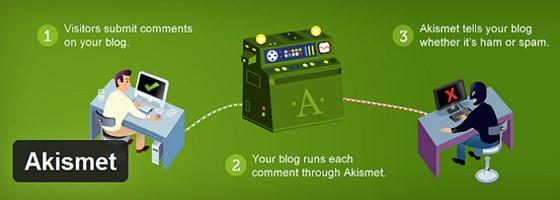 Install An Anti Spam Plugin Akismet WP Plugin