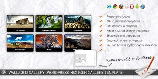 wall/grid gallery (wp nextgen gallery template)