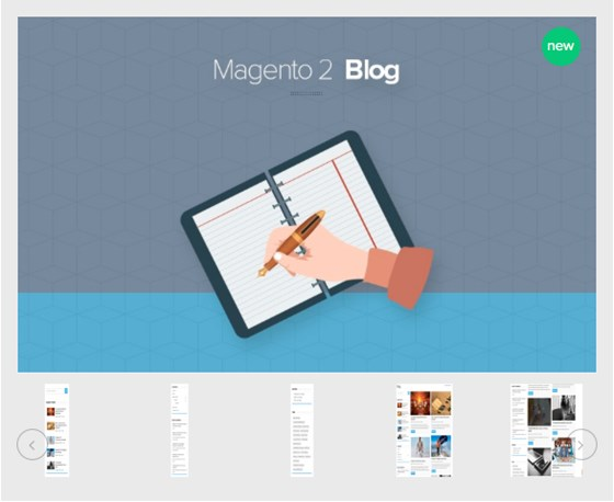 Blog Extension Magento 2